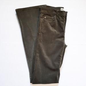 Green - Gap 1969 Perfect Boot Cut Corduroy Pants